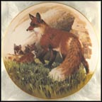 Red Fox Collector Plate by Lee LeBlanc