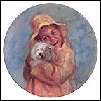Patrick's Puppy Collector Plate by Richard Zolan