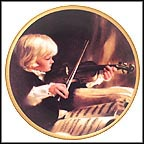 Young Virtuoso Collector Plate by Donald Zolan