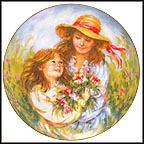Enchanted Eyes Collector Plate by Karin Schaefers