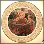 A Christmas Story Collector Plate by Edward Marshall Boehm MAIN
