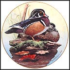 Wood Ducks Collector Plate by Rod Lawrence MAIN