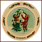December Collector Plate by Sarah Stilwell Weber MAIN