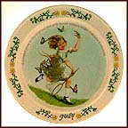 July Collector Plate by Sarah Stilwell Weber MAIN