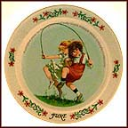 June Collector Plate by Sarah Stilwell Weber