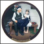 The Lighthouse Keeper's Daughter Collector Plate by Norman Rockwell MAIN