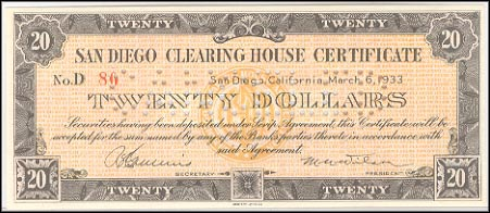 San Diego Clearing House, California