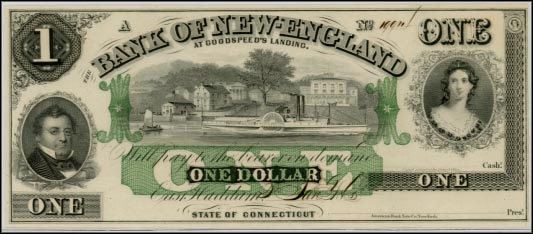 Bank Of New England, East Haddam, Connecticut