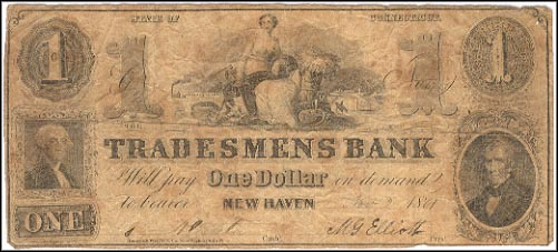Tradesmens Bank, New Haven, Connecticut