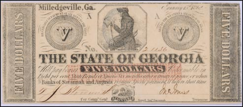 State Of Georgia, Milledgeville, Georgia