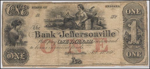 Bank Of Jeffersonville, Indiana