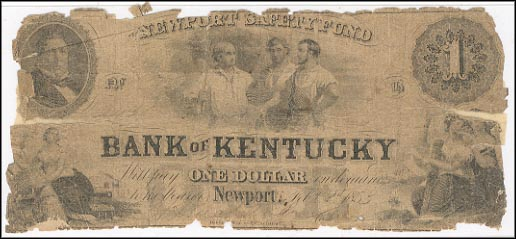 Newport Safety Fund, Bank of Kentucky, Kentucky