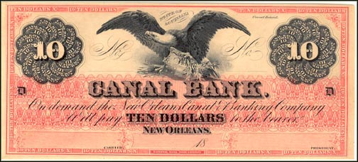 Canal Bank, New Orleans, Louisiana