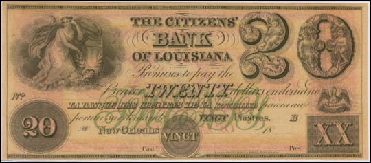 Citizens Bank Of Louisiana, New Orleans, Louisiana