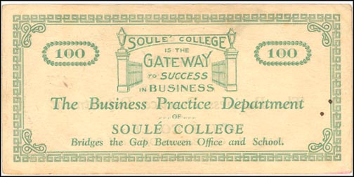 Soule College, New Orleans, Louisiana