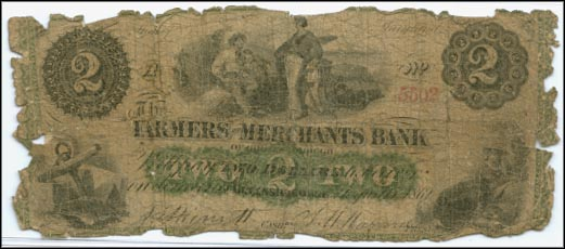 Farmers & Merchants Bank, Greensborough, Maryland