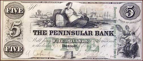Peninsular Bank, Detroit, Michigan