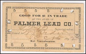 Palmer Lead Co., Washington County, Missouri