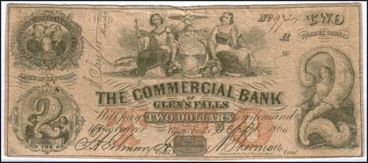 Commercial Bank Of Glen's Falls, New York