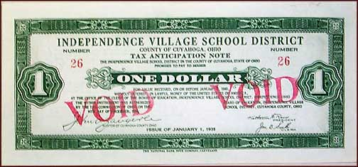 County Of Cuyahoga School District Tax, Independence, Ohio