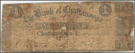 Bank Of Chattanooga, Tennessee