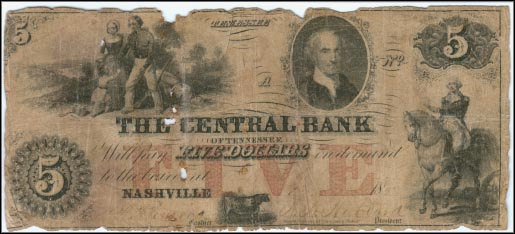 Central Bank Of Tennessee, Nashville, Tennessee