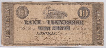 Bank Of Tennessee, Nashville, Tennessee