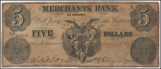 Merchants Bank Of Virginia, Lynchburg, Virginia
