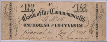 Bank Of The Commonwealth, Richmond, Virginia
