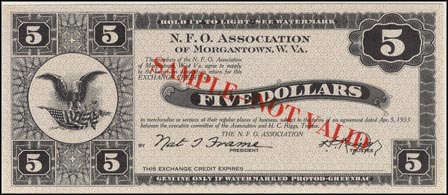 N. F. O. Association, Morgantown, West Virginia