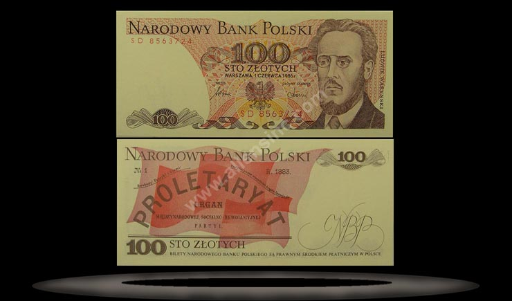 Poland Banknote, 100 Zlotych, 1.6.1979, P#143c