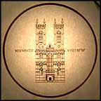 Westminster Abbey Collector Plate MAIN