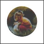 Tender Moment Collector Plate by Donald Zolan
