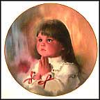 Christmas Prayer Collector Plate by Donald Zolan