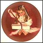 A Gift For Laurie Collector Plate by Donald Zolan