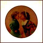 Tender Hearts Collector Plate by Donald Zolan
