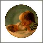Brotherly Love Collector Plate by Donald Zolan