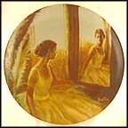 Reverie Collector Plate by Robert Bentley