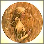Wheatfield Collector Plate by Robert Bentley