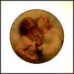 Tiny Treasures Collector Plate by Donald Zolan