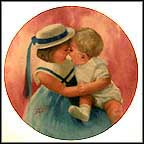 Mother's Angels Collector Plate by Donald Zolan