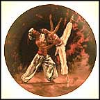 The Arabian Dancers Collector Plate by Shell Fisher