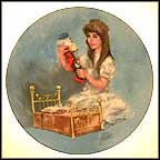 Bedtime For Nutcracker Collector Plate by Shell Fisher