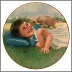 Curious Kitten Collector Plate by Robert Anderson