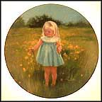 Meadow Magic Collector Plate by Donald Zolan