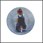 Little Traveler Collector Plate by Donald Zolan