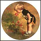 Grandma's Garden Collector Plate by Donald Zolan
