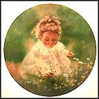 Spring Innocence Collector Plate by Donald Zolan