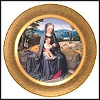 The Rest On The Flight Into Egypt Collector Plate by Gerard David