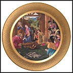 The Adoration Of The Magi Collector Plate by Sandro Botticelli